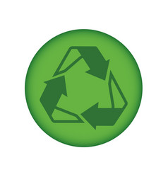 recycle reuse and reduce vector image vector image