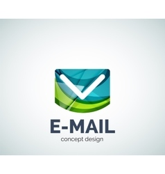 E-mail logo business branding icon vector
