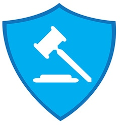 Law icon vector