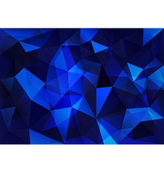 Blue triangle vector