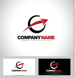 Arrow logo concept design vector