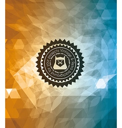 Vintage And retro background vector image