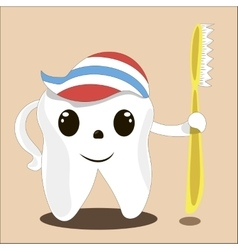 Dental tooth health treatment vector