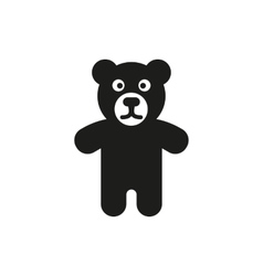 Bear icon design toy symbol web graphic ai vector