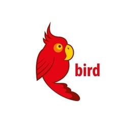 bird logo vector image vector image