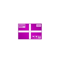 Box icon concept for design vector image