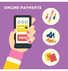 Mobile payments vector