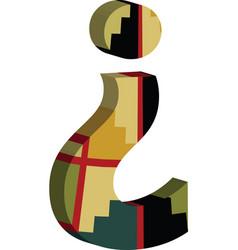 3d question mark symbol vector