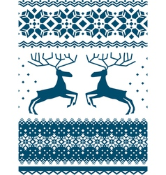Scandinavian pattern vector