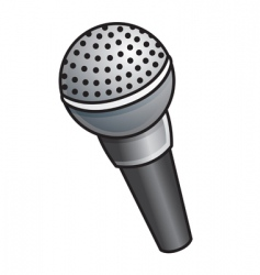 Cordless microphone vector
