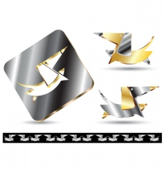 icon dog vector image vector image