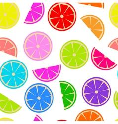 Rainbow lemon vector
