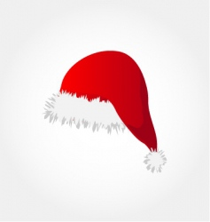 Santa's hat vector image