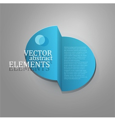 element for business design vector image
