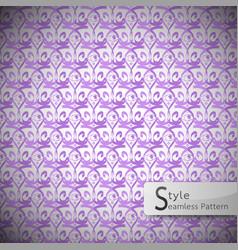 eyes purple vintage seamless pattern vector image