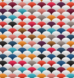 abstract white blobs vector image vector image