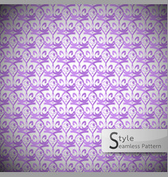 Eyes purple vintage seamless pattern vector