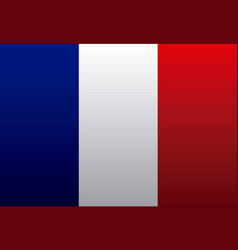 france flag classic culture vector image