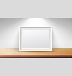 rectangular frame background concept good vector image vector image