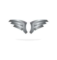 wing art vector image vector image
