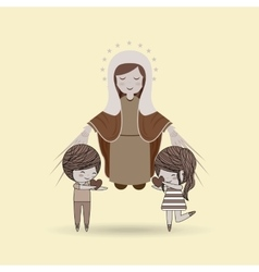 Love of religion design vector