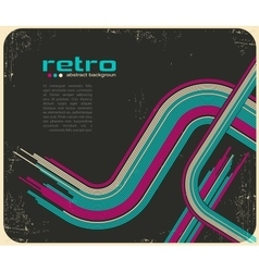 abstract disco background - vector image