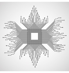 Cpu microprocessor microchip circuit board vector