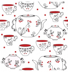cup spot vector image vector image