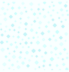 Cyan rounded diamond pattern seamless background vector