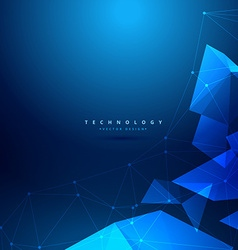 Abstract geometrical technology background vector