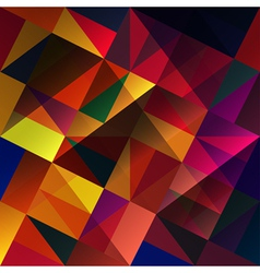 abstract multi colored background vector image