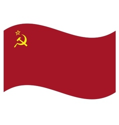 Flag ussr vector