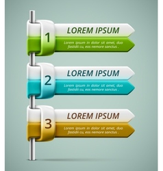 Infographic banner vector