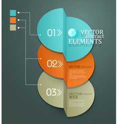 Element for business and web design vector