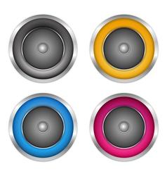 Soundspeakers vector image