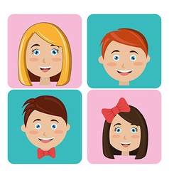 Family and home vector