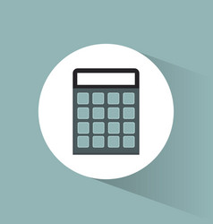 Calculator financial marketing concept vector