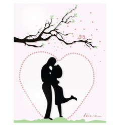 Valentine day Couple vector image vector image