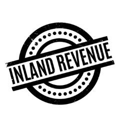 Inland revenue rubber stamp vector