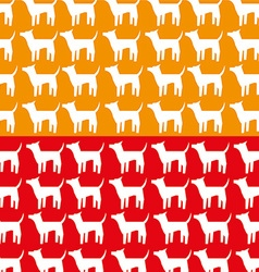 Veterinary centre design vector