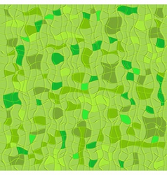 Green seamless checkered pattern vector image