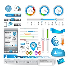 Infographic elements - Quality Set vector image