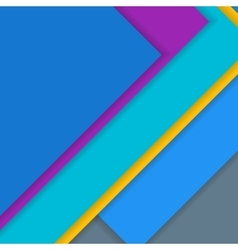 Modern material design background vector image