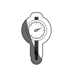 Isolated gauge design vector image