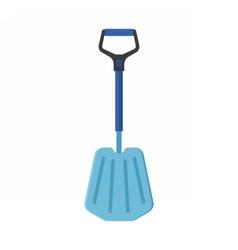 Emergency snow shovel vector