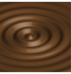 Abstract background with chocolate circles vector image