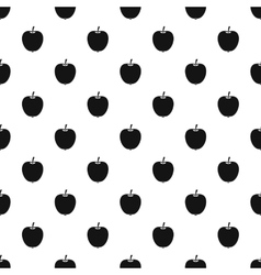 Apple pattern simple style vector image vector image