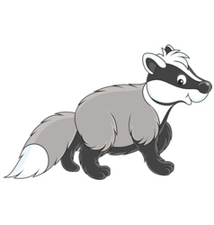 Badger vector image vector image