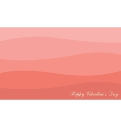 Flat of valentine day background vector