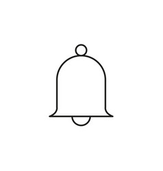 ring bell simple icon vector image